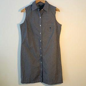 Lauren Ralph Lauren checkers shirt dress
